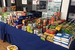 Alimentos para distribuição
