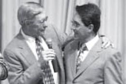 Apóstolo Jorge Tadeu e Dr. Roy Hicks na Convenção de Fé em Portugal