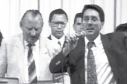 Apóstolo Jorge Tadeu com Dr. Lester Sumrall